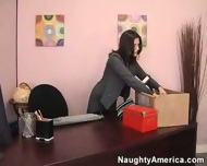 Austin gets fucked in the office