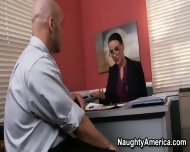+Favorite Business With Busty Office Worker Emily Parker Is A Pleasure